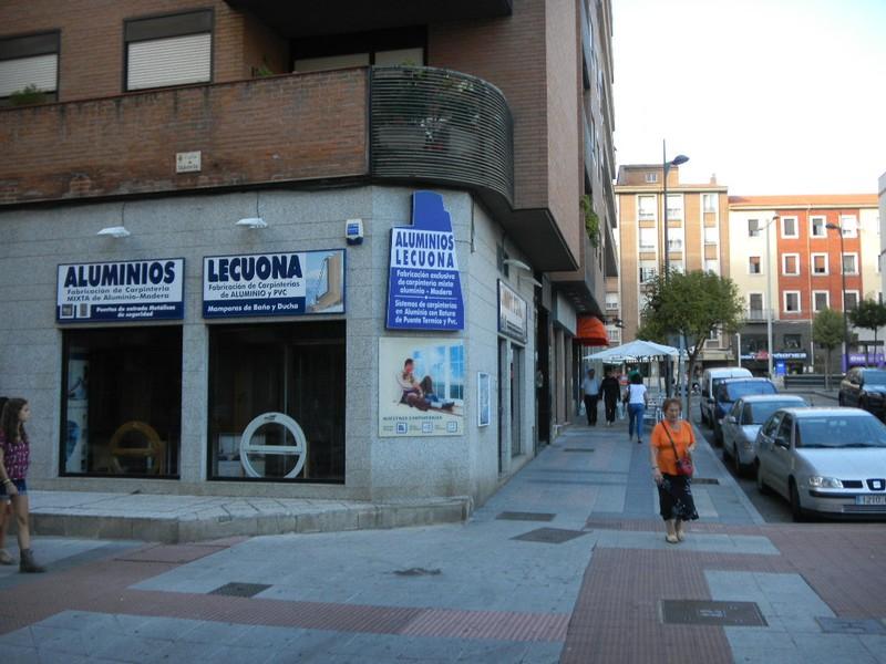 Localizacion aluminios lecuona ventanas de aluminio en - Calle valencia salamanca ...